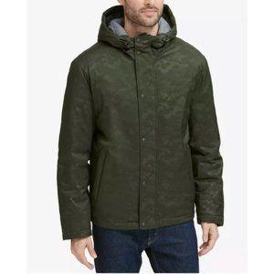 $275 NWT Cole Haan Hooded Long Sleeve Jacket XXL